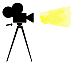movie camera clipart