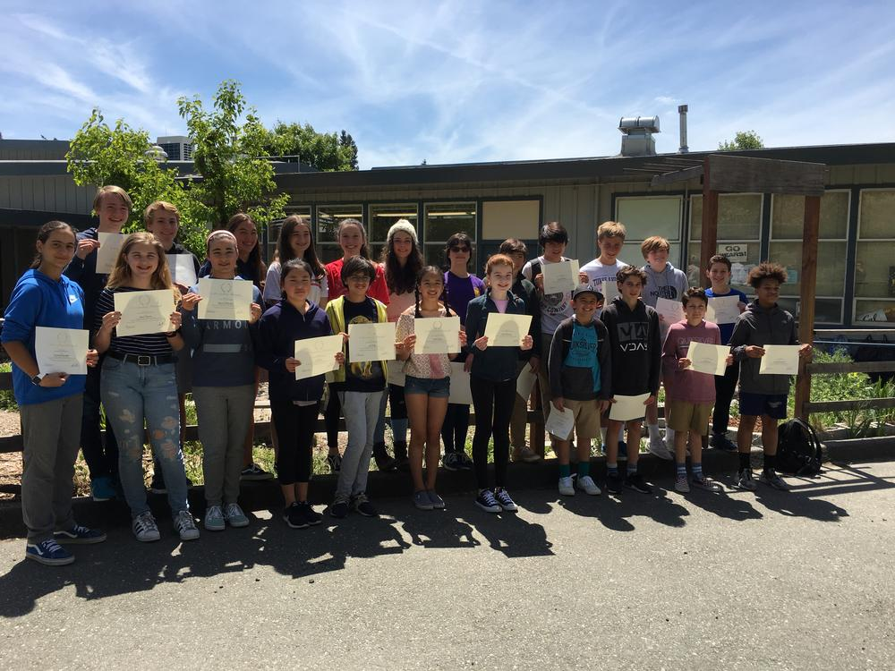 citizenship award winners
